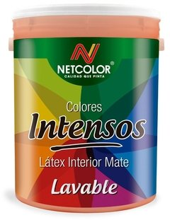 "Látex Interior Lavable Colores ""Intensos"" Netcolor x 1 Lt"