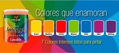 "Látex Interior Lavable Colores ""Intensos"" Netcolor x 1 Lt - comprar online"
