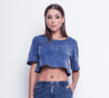 Cropped Denim – Labellamafia