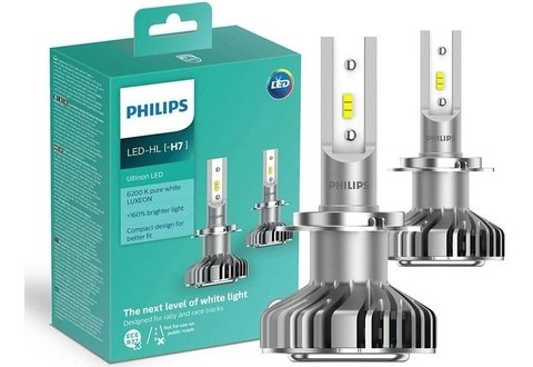 LAMPADA SUPER LED PHILIPS H7 XTREME ULTINON 6200K