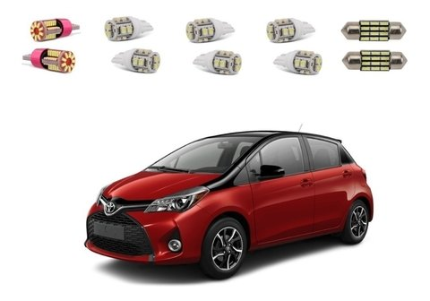Kit Lampadas Led Toyota Yaris