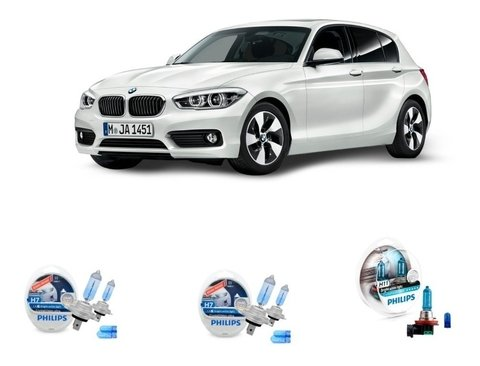 Kit Lampadas Philips Crystal Vision Bmw 118i