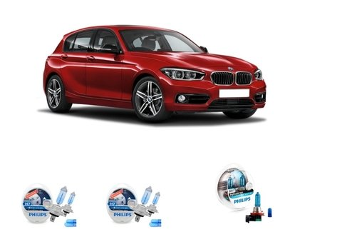 Kit Lampadas Philips Crystal Vision Bmw 120i