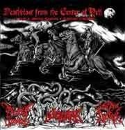 Deathblast from the Center of Hell (Costa Rica) - 3 WaySplit CD