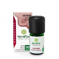 Óleo Essencial de Vetiver Terraflor Aromaterapia 5 ml na internet