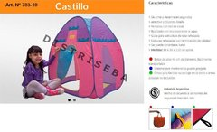 Carpa Castillo Desamable de Tela