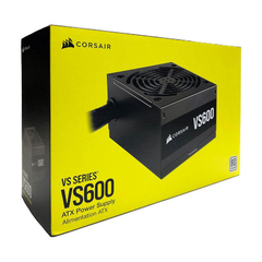 Fuente Corsair VS600W 80plus White
