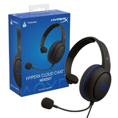 Auriculares Kingston HyperX Cluod Chat PS4
