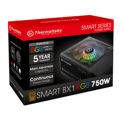 Fuente Thermaltake Smart BX1 RGB 750W 80plus