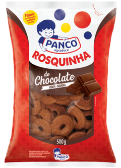 Rosquinha de Chocolate Panco 500G