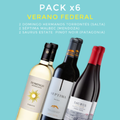 PACK x6 Verano Federal