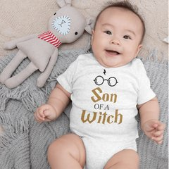 Body Bebê Harry Potter Son of a Witch Modelo