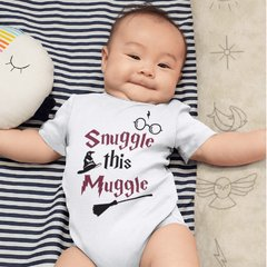 Body Bebê Harry Potter Snuggle This Muggle Modelo