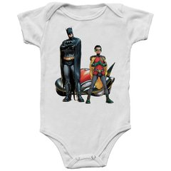 Body bebê Batman e Robin - DC Comics