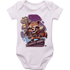Body bebê Rocket Raccoon - Marvel Comics