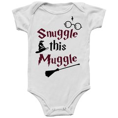 Body Bebê Harry Potter Snuggle This Muggle