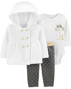 Set de 3 Carters Matelase