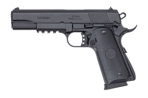 PISTOLA CALIBRE  Cal 45 GIRSAN MC 1911 S  BLACK