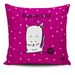 Almofada All you need Cat- Petquadros