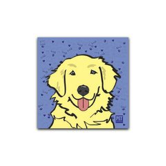 Placa Golden Retriever (Creme - Macho) Petquadros