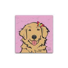 Placa Golden Retriever (Dourado - Fêmea) Petquadros