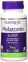 Melatonin Sleep 5 mg