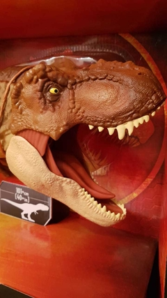 Tiranosaurio Rex Jurassic World Super Colossal Dino Rivals 1 METRO - STOCK DISPONIBLE - tienda online