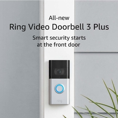Ring Video Doorbell 3 Plus - ULTIMO LANZAMIENTO! - MarketDigital