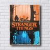 Placa decorativa com o tema da série Stranger Things