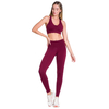 Calça Legging Fitness Ccm Marcelle Color Feminino