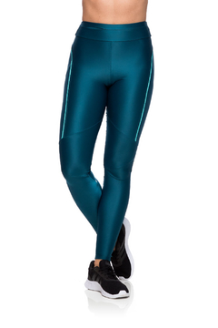 Legging Compression Reflect - Verde escuro na internet