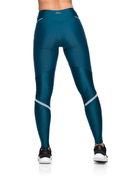 Imagem do Legging Compression Reflect - Verde escuro