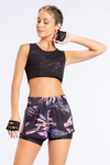 Regata Cropped Air Soft Net - Noir Black