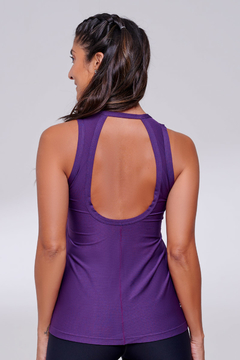 Regata Hollow Roxo - The Fit Brand