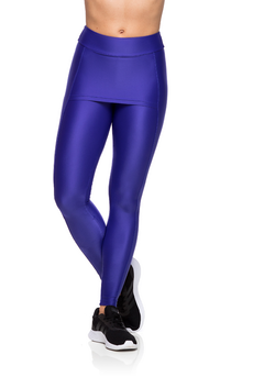 Legging Fitness Cover - Azul Bic