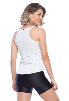 Regata Fitness Perfect Basic - Branco - comprar online