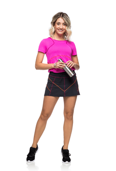 Camiseta Sporty Pink - The Fit Brand