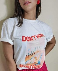 T-shirt Don't worry - comprar online