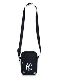Shoulder Bag New Era MLB New York Yankees Preta MBP19BAG006 na internet