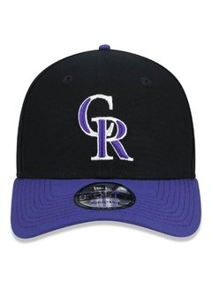 Boné New Era 9Forty MLB Colorado Rockies Preto MBPERBON392 - comprar online
