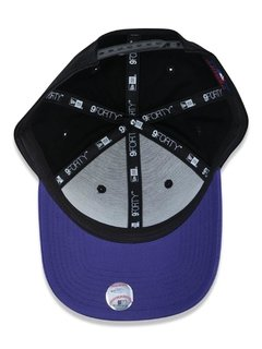 Boné New Era 9Forty MLB Colorado Rockies Preto MBPERBON392 - loja online