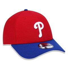 Bone New Era 9Forty MLB Philadelphia Phillies Vermelho MBPERBON403
