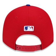 Bone New Era 9Forty MLB Philadelphia Phillies Vermelho MBPERBON403 - newera