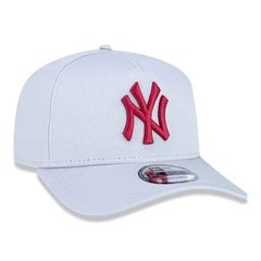 Boné New Era 9Forty MLB New York Yankees Cinza MBV19BON149