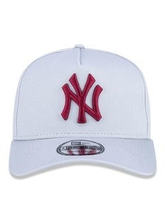 Boné New Era 9Forty MLB New York Yankees Cinza MBV19BON149 - comprar online