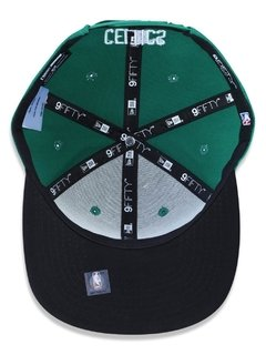 Boné New Era 9Fifty NBA Boston Celtics Verde NBV18B0N361 - loja online