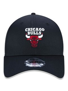Boné New Era 9Forty NBA Chicago Bulls Preto NBV19BON134 - comprar online
