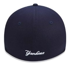 Boné New Era Mlb 39thirty New York Yankees Azul Neperbon155 - newera