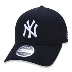 Boné New Era Mlb 39thirty New York Yankees Azul Neperbon155 - loja online
