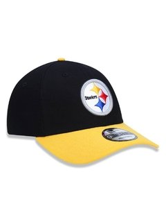 Boné New Era 9Forty NFL Pittsburgh Steelers Preto NFI18BON170